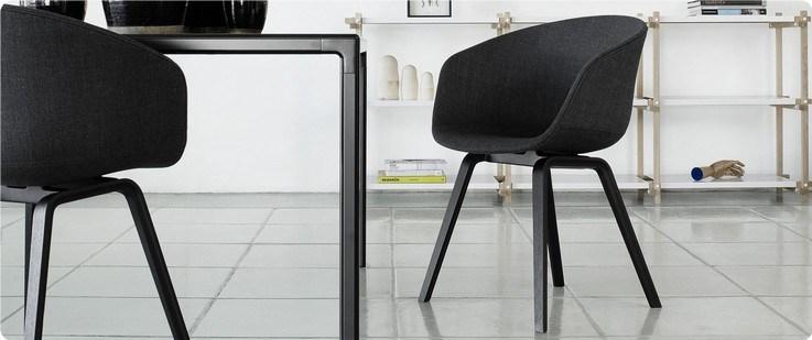 Lerche design spisebordsstole barstole og skamler
